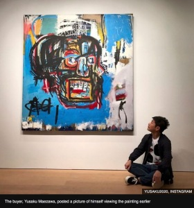 Basquiat 110M painting
