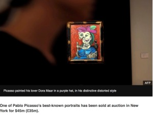 Picasso 45M painting