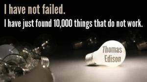 Edison 10,000 tried