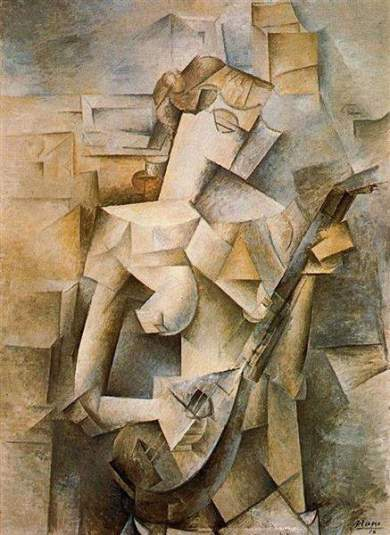 Picasso - girl with the mandolin