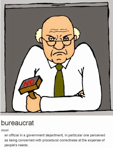 BUREAUCRAT definition