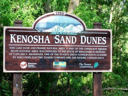 kenosha sand dunes