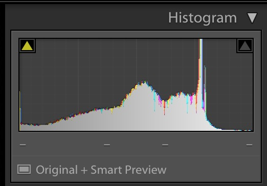 histogram of the boat