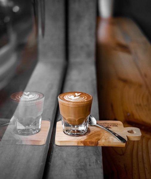 coffee on the ledge