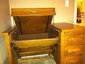 181299024_antique-oak-desk-w-pull-out-manual-typewriter-area-with-